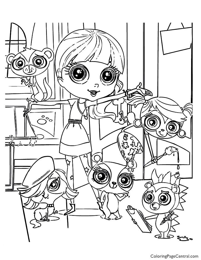 my little pet shop coloring pages coloring pages my little pet shop coloring home pages coloring my pet little shop