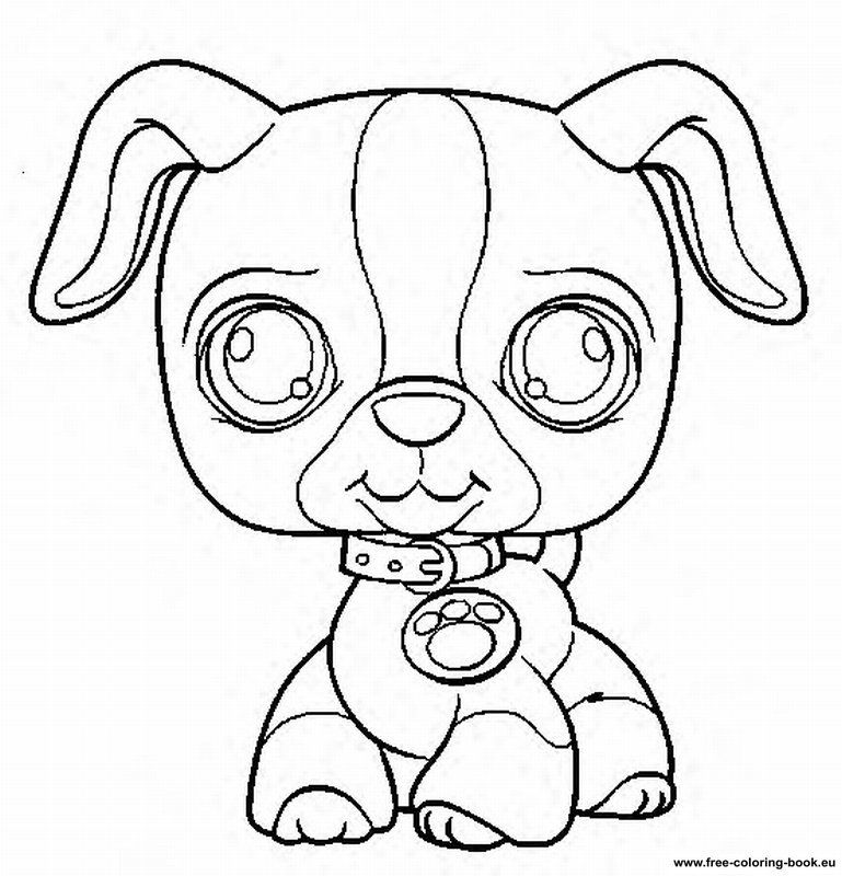 my little pet shop coloring pages littlest pet shop coloring pages dog coloring home pet little coloring shop my pages