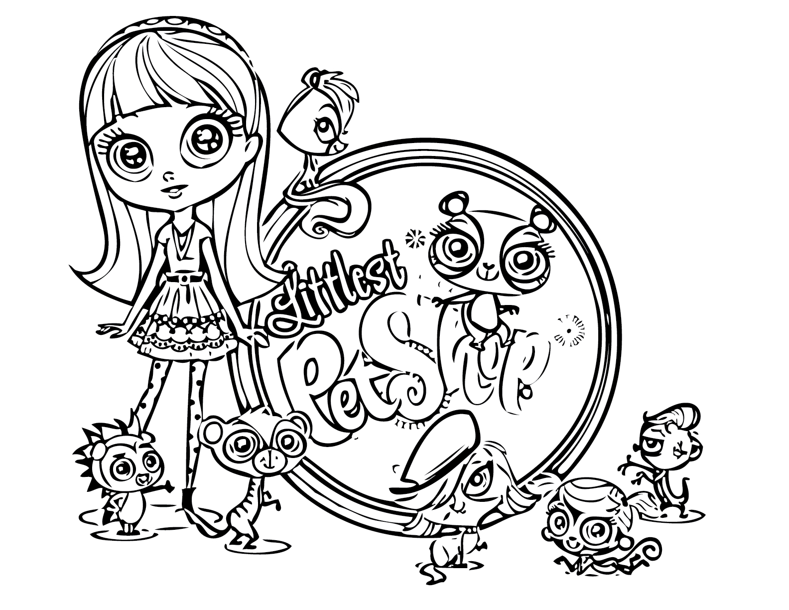 my little pet shop coloring pages littlest pet shop coloring pages printable coloring home pages shop pet coloring little my