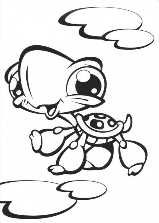 my little pet shop coloring pages littlest pet shop coloring pages squid army shop little pages pet coloring my