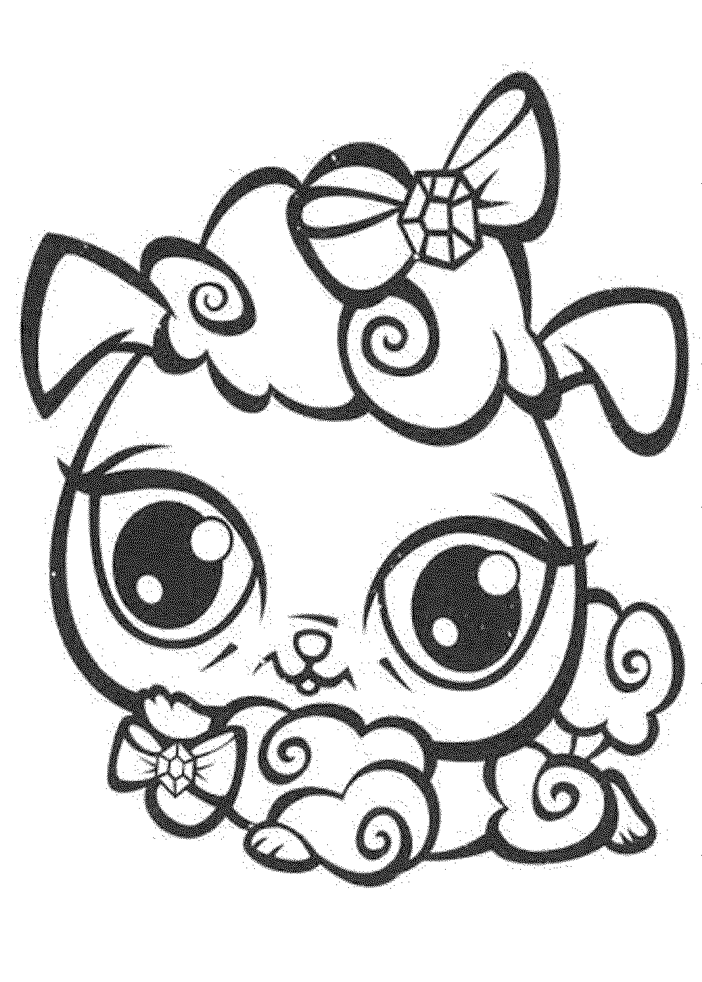 my little pet shop coloring pages littlest pet shop vinnie terrio coloring page coloring little pages shop coloring pet my