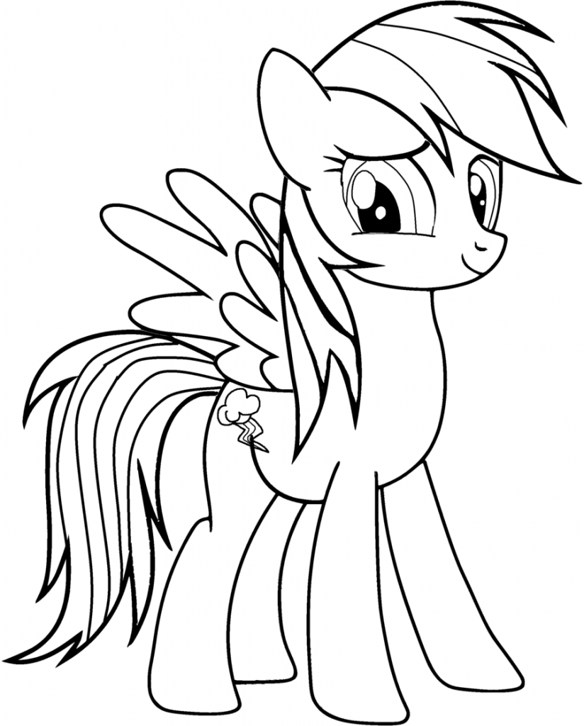 my little pony coloring pages rainbow dash free printable my little pony coloring pages for kids dash pages pony rainbow little coloring my