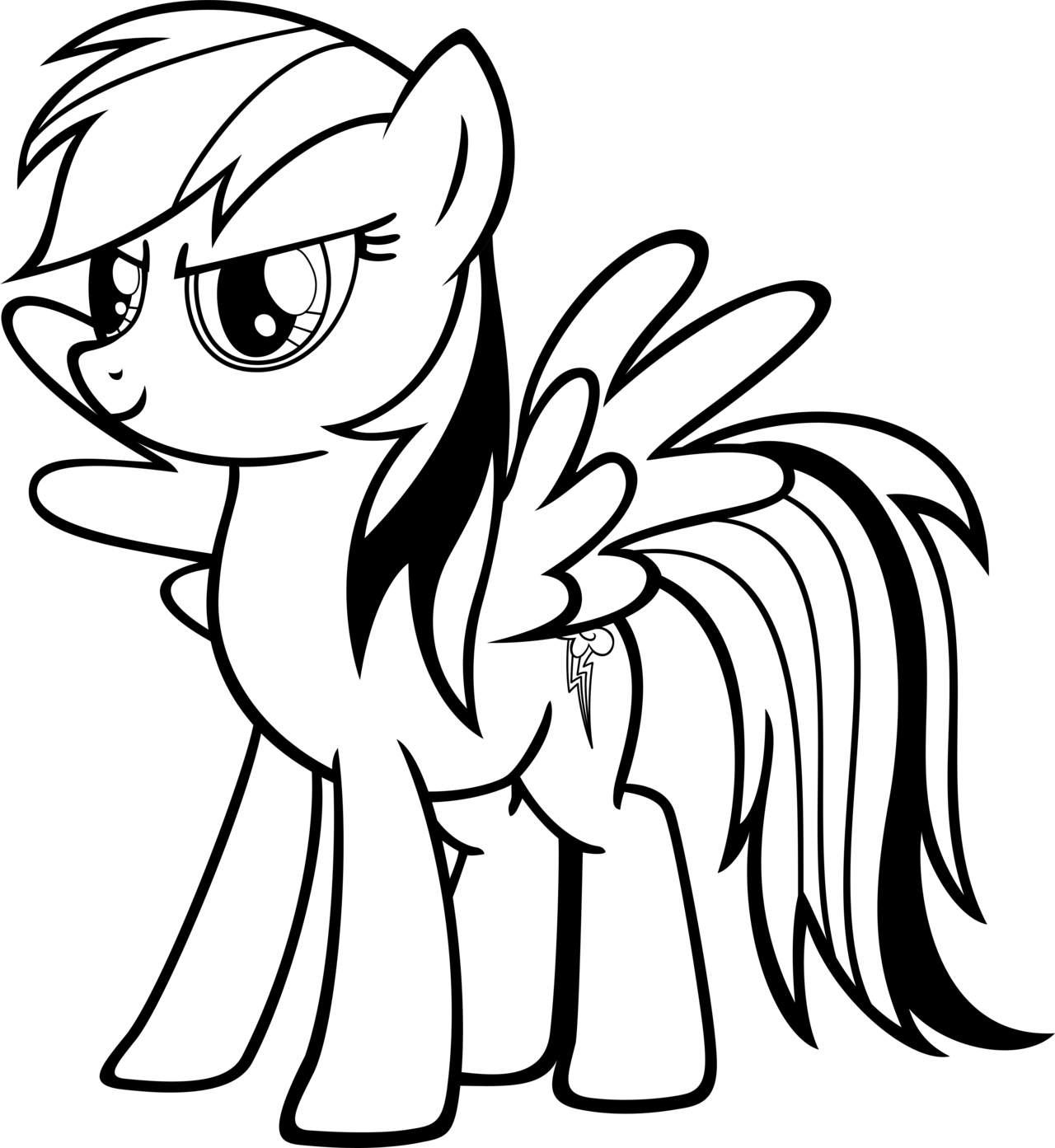 my little pony coloring pages rainbow dash rainbow dash coloring page clipart panda free clipart rainbow my pages pony little dash coloring