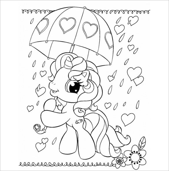 my little pony coloring template 17 my little pony coloring pages pdf jpeg png free template my little pony coloring