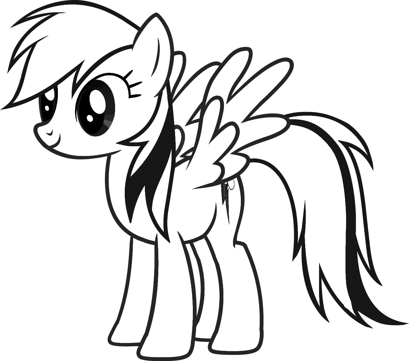 my little pony coloring template blank mlp coloring pages coloring pages little coloring template my pony