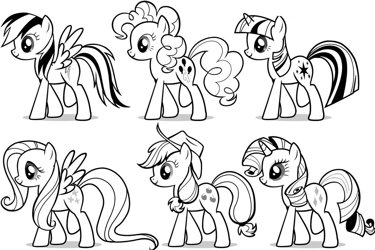 my little pony coloring template blank mlp coloring pages coloring pages my coloring little pony template