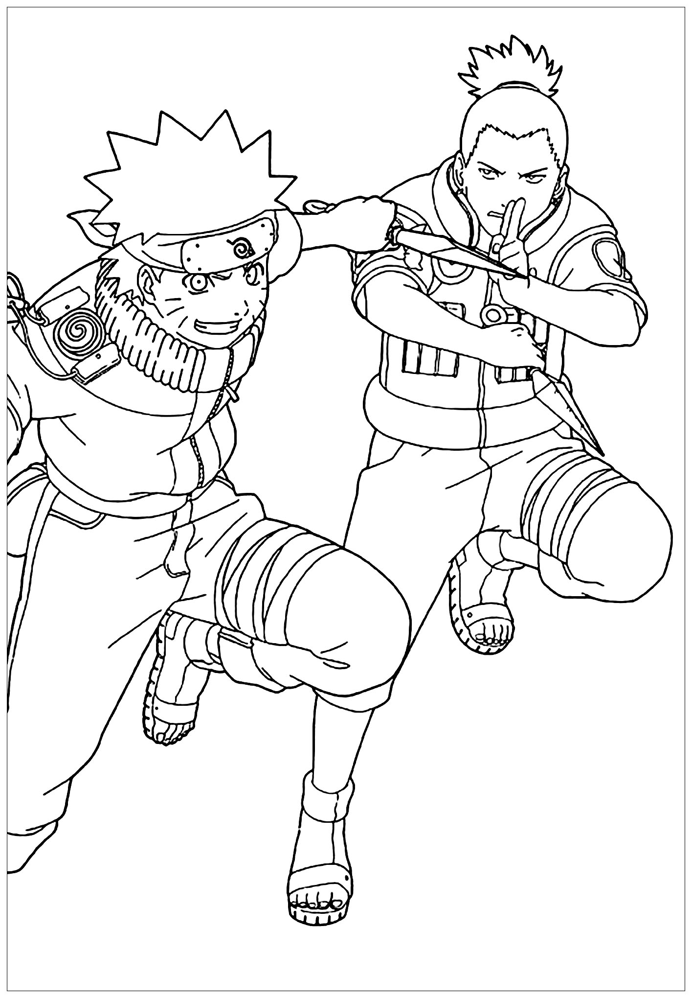 naruto coloring sheets coloring town naruto coloring sheets