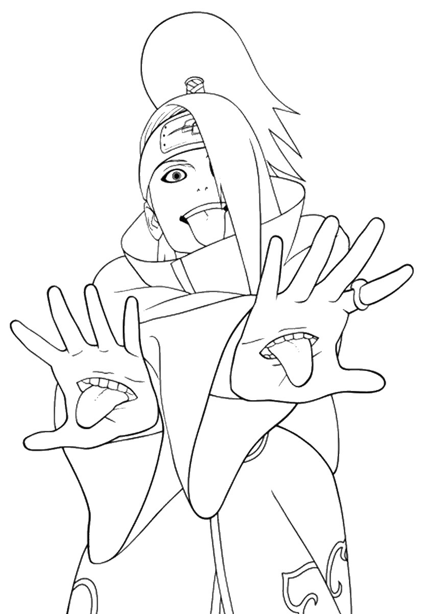 naruto coloring sheets printable naruto coloring pages to get your kids occupied naruto coloring sheets 1 1