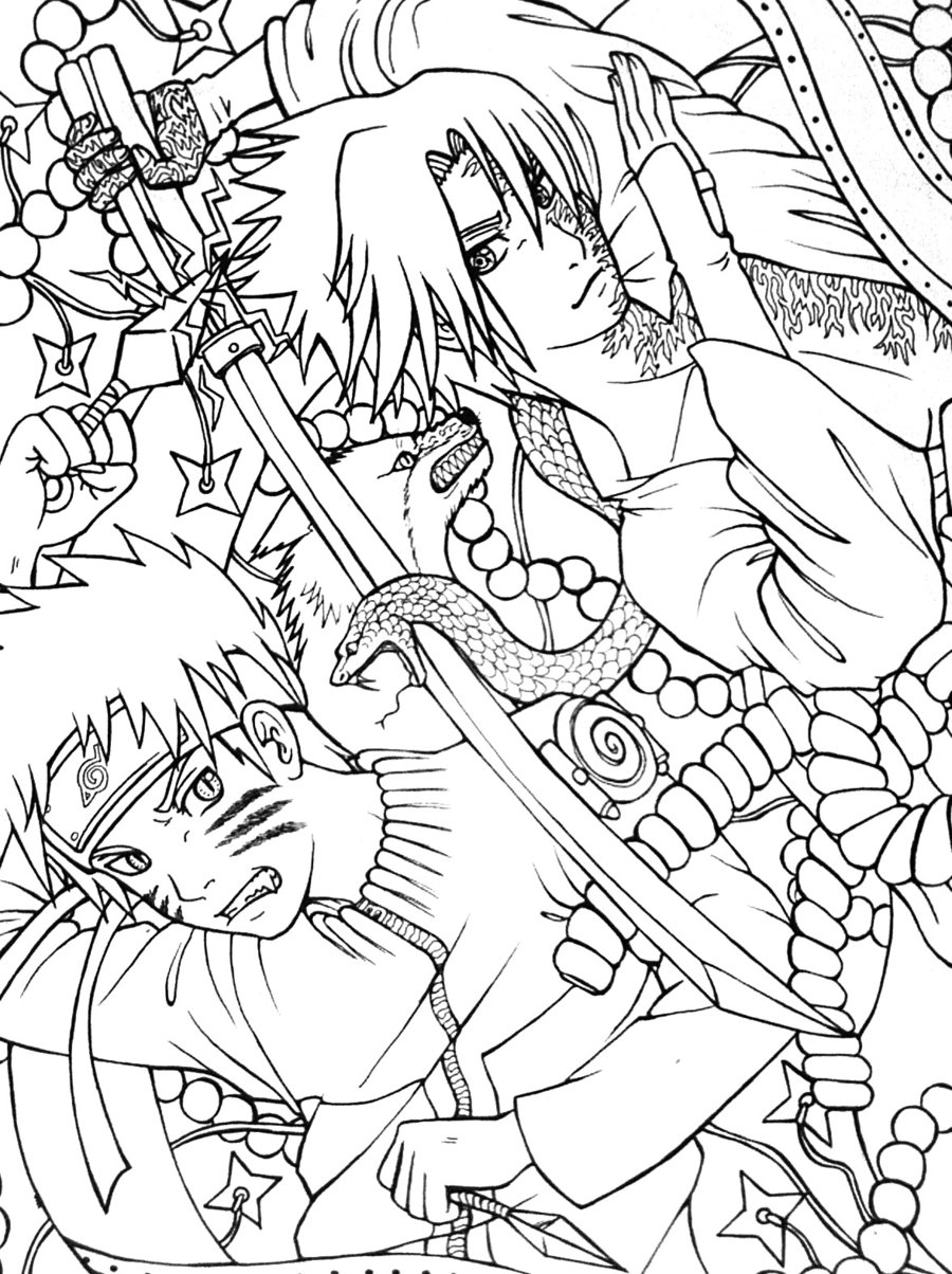 naruto shippuden coloring book printable naruto coloring pages to get your kids occupied naruto shippuden coloring book