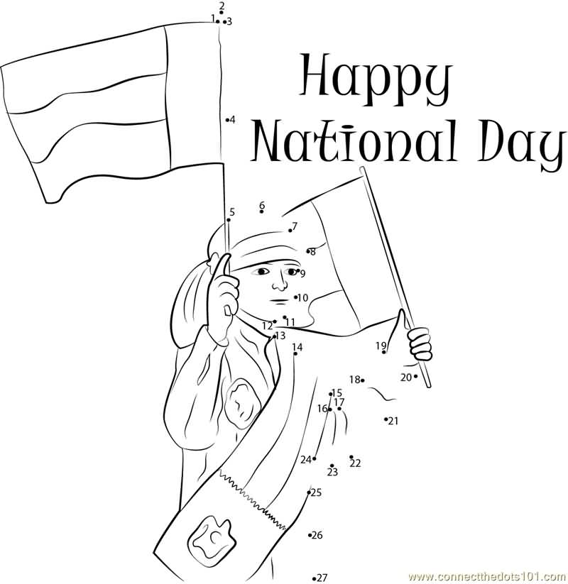 National day coloring pages