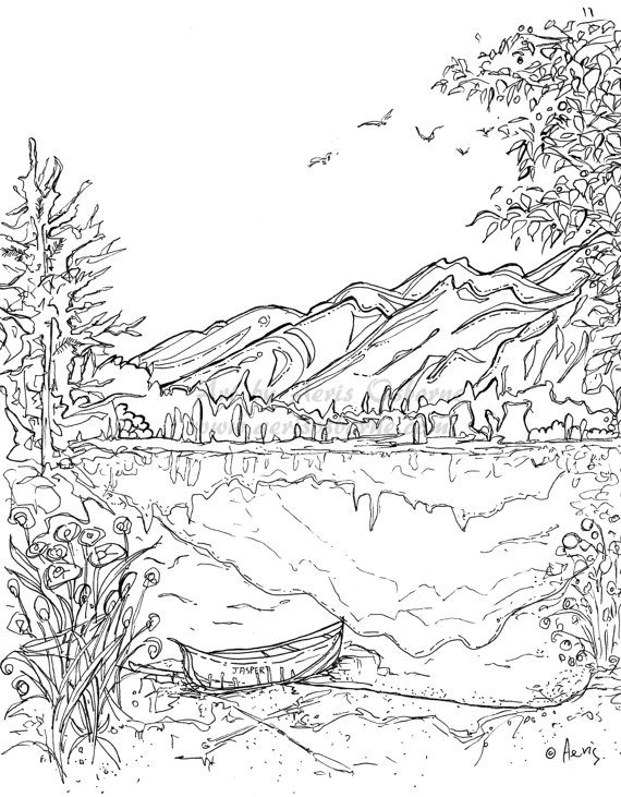 nature scene nature coloring pages free printable nature coloring pages for kids best coloring nature pages nature scene