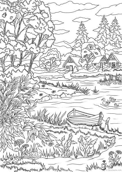 nature scene nature coloring pages nature scenes coloring pages coloring home coloring pages nature scene nature