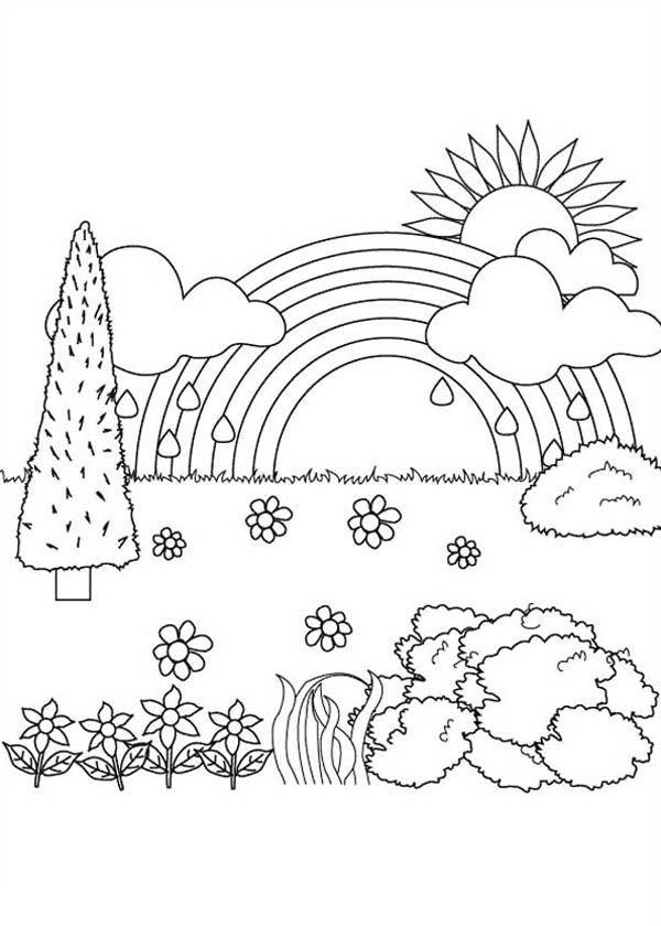nature scene nature coloring pages nature scenes coloring pages coloring home nature scene pages coloring nature