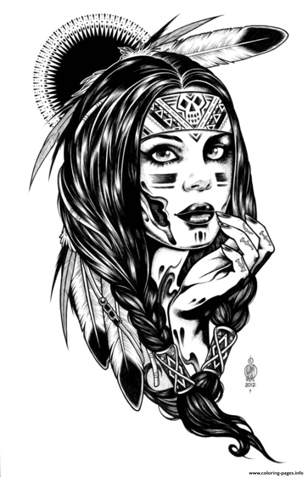 navajo indian coloring pages 23 best ideas indian coloring pages for adults home coloring navajo indian pages