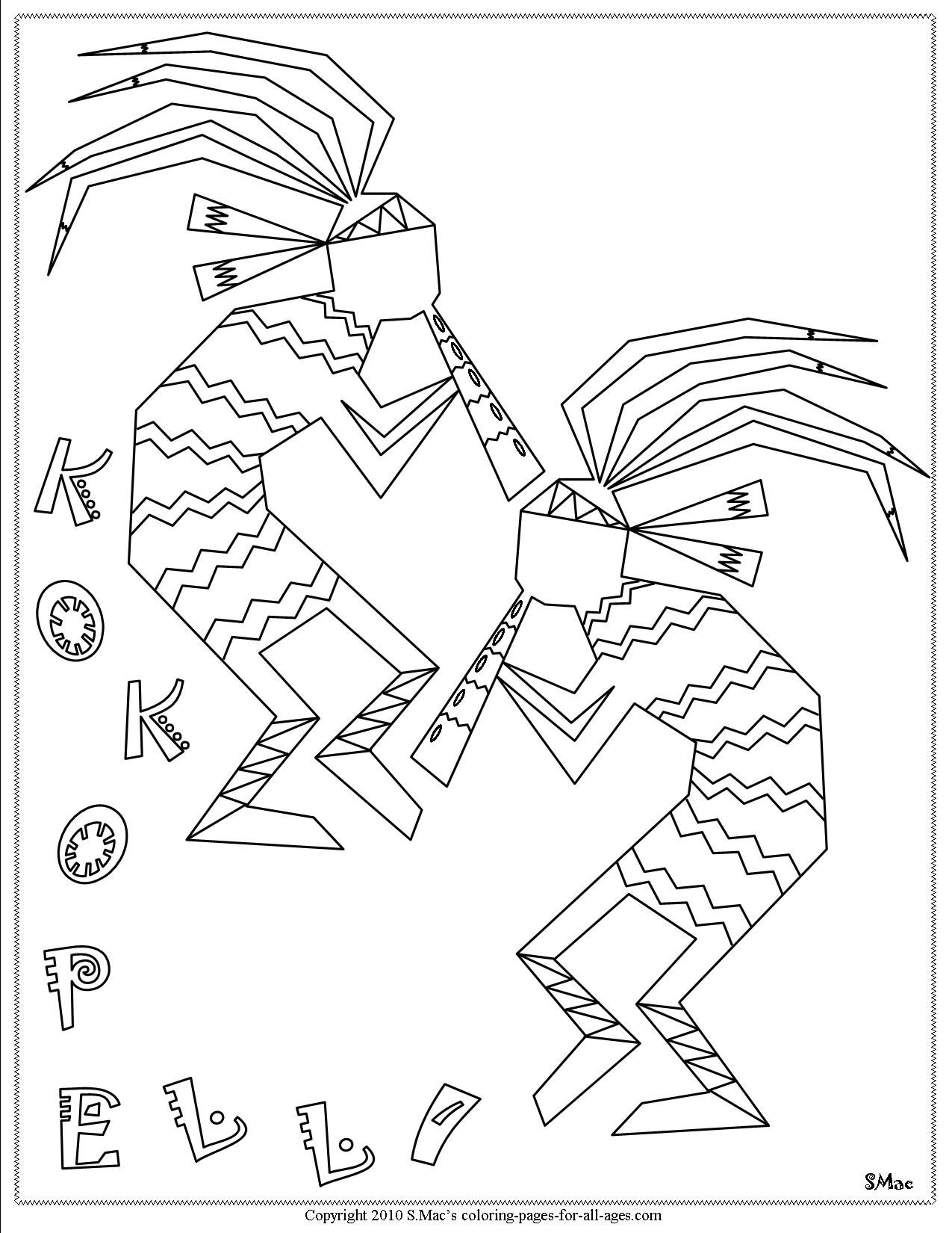 navajo indian coloring pages cherokee indian coloring pages coloring home coloring indian navajo pages