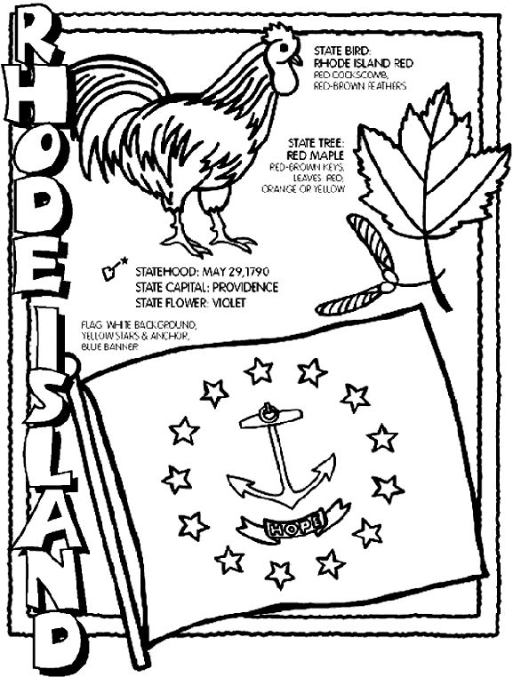 new jersey state bird rhode island coloring page d thinks its hysterical that state bird jersey new