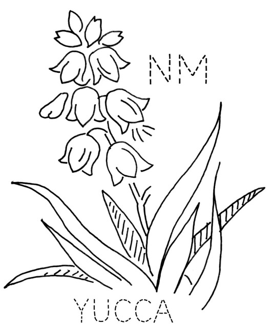 new mexico state flower new mexico wordsearch crossword puzzle and more state mexico new flower