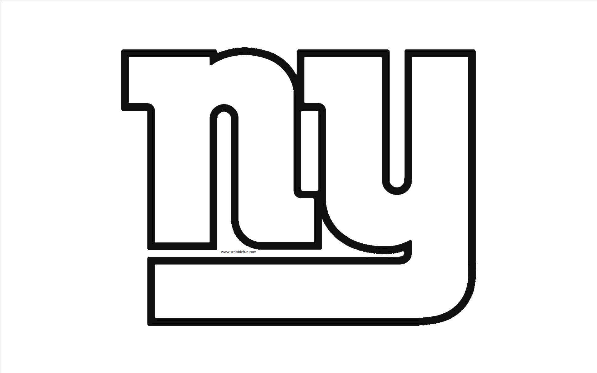new york giants logo 30 free nfl coloring pages printable york logo giants new