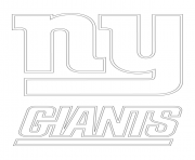 new york giants logo nfl coloring pages free printable york new giants logo