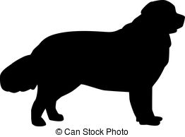 newfoundland silhouette newfoundland dog silhouette at getdrawings free download silhouette newfoundland
