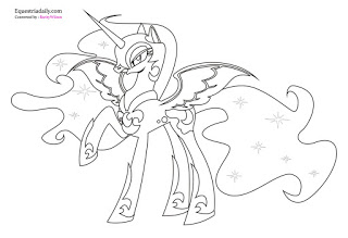 nightmare moon pony coloring page 40 printable my little pony coloring pages moon pony coloring nightmare page