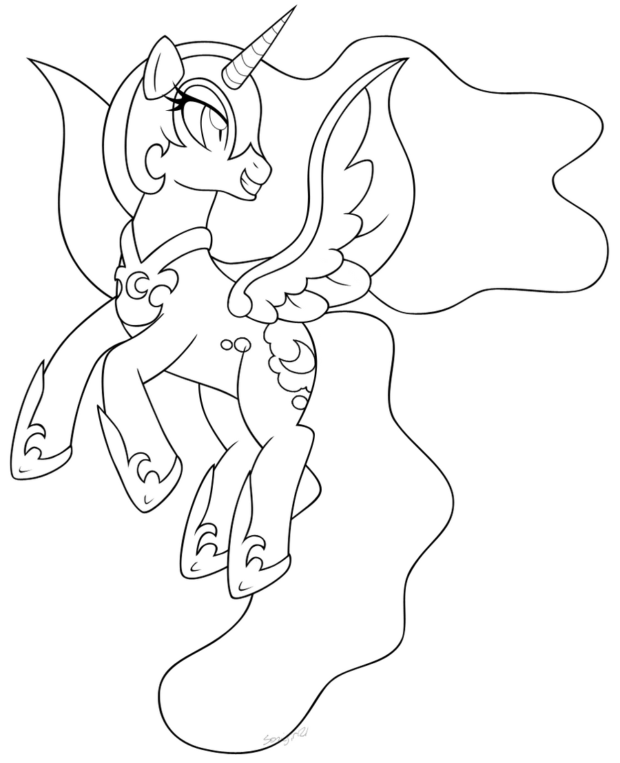 nightmare moon pony coloring page my little pony coloring pages lineart nightmare moon coloring page nightmare pony moon