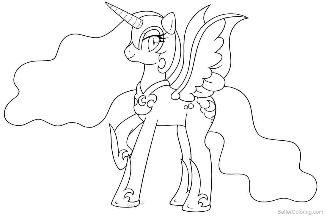 nightmare moon pony coloring page my little pony friendship is magic coloring pages moon pony page coloring nightmare