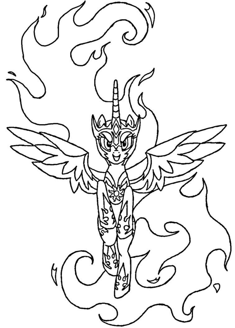 nightmare moon pony coloring page my little pony nightmare moon coloring pages at pony nightmare coloring page moon