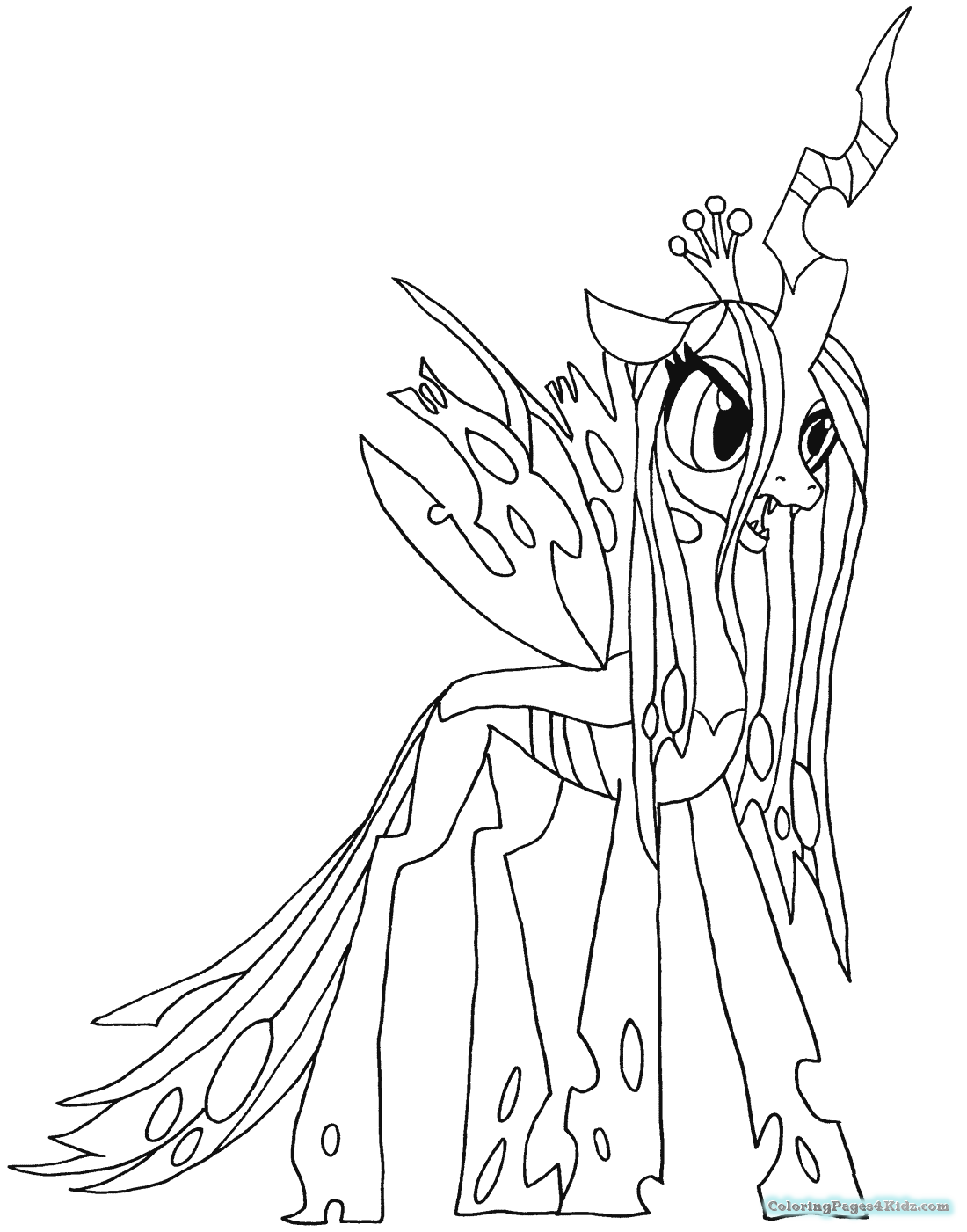 nightmare moon pony coloring page my little pony nightmare moon coloring pages coloring moon nightmare pony page