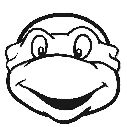 ninja turtles face coloring pages ninja turtle face drawing at getdrawings free download ninja pages face turtles coloring