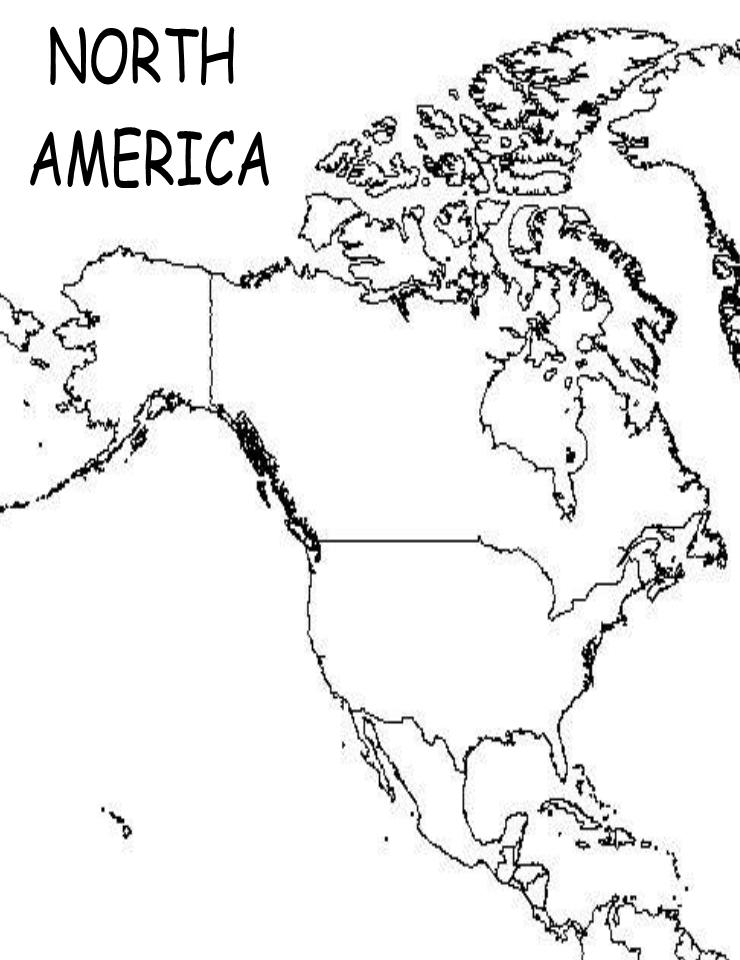 north america map outline north america blank map map 8th grade history color america north map outline