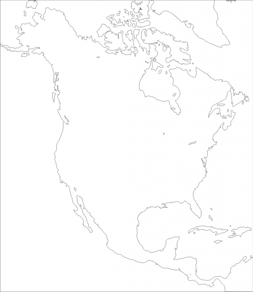 north america map outline north america familyeducation outline map america north