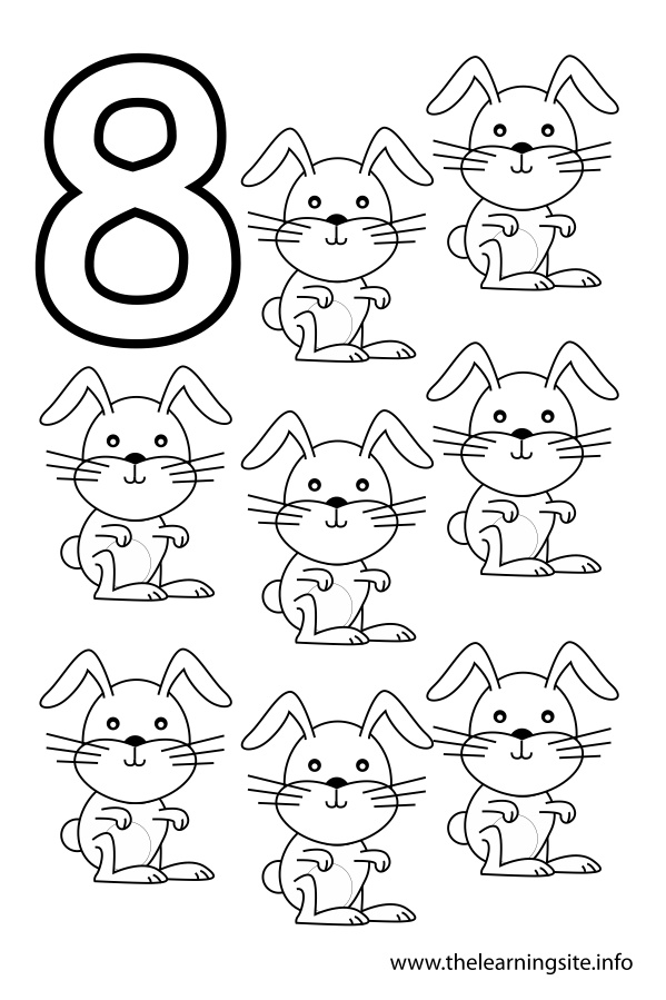 number 8 coloring sheet number 8 coloring page coloring pages for kids number coloring 8 sheet