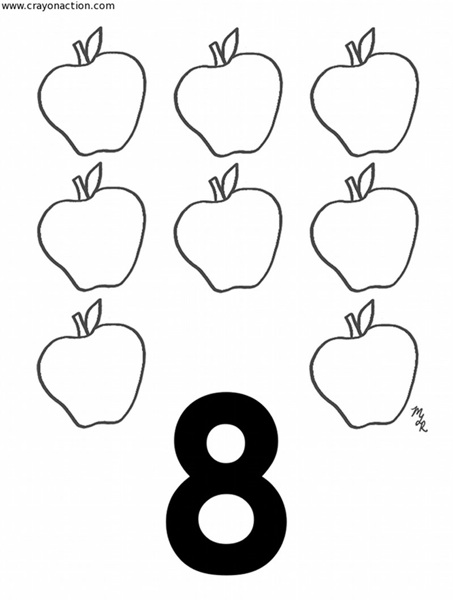 number 8 coloring sheet number 8 coloring page free download on clipartmag 8 number coloring sheet