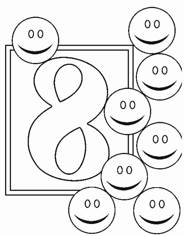 number 8 coloring sheet standard letter printables free alphabet coloring page coloring 8 number sheet