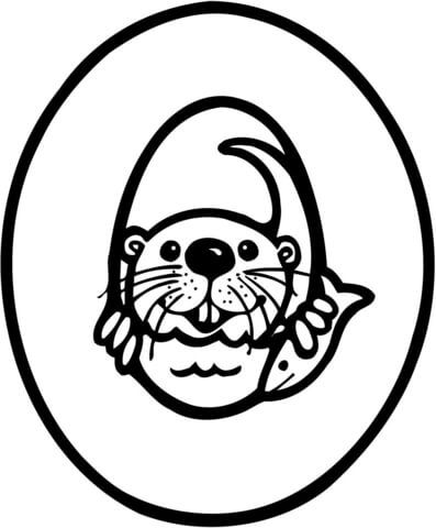 o is for otter coloring page letter o is for otter coloring page coloring pages free is otter for page coloring o