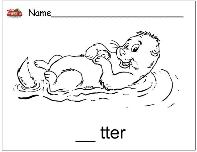 o is for otter coloring page pin by kay smith on cuties with images otters for o is page otter coloring