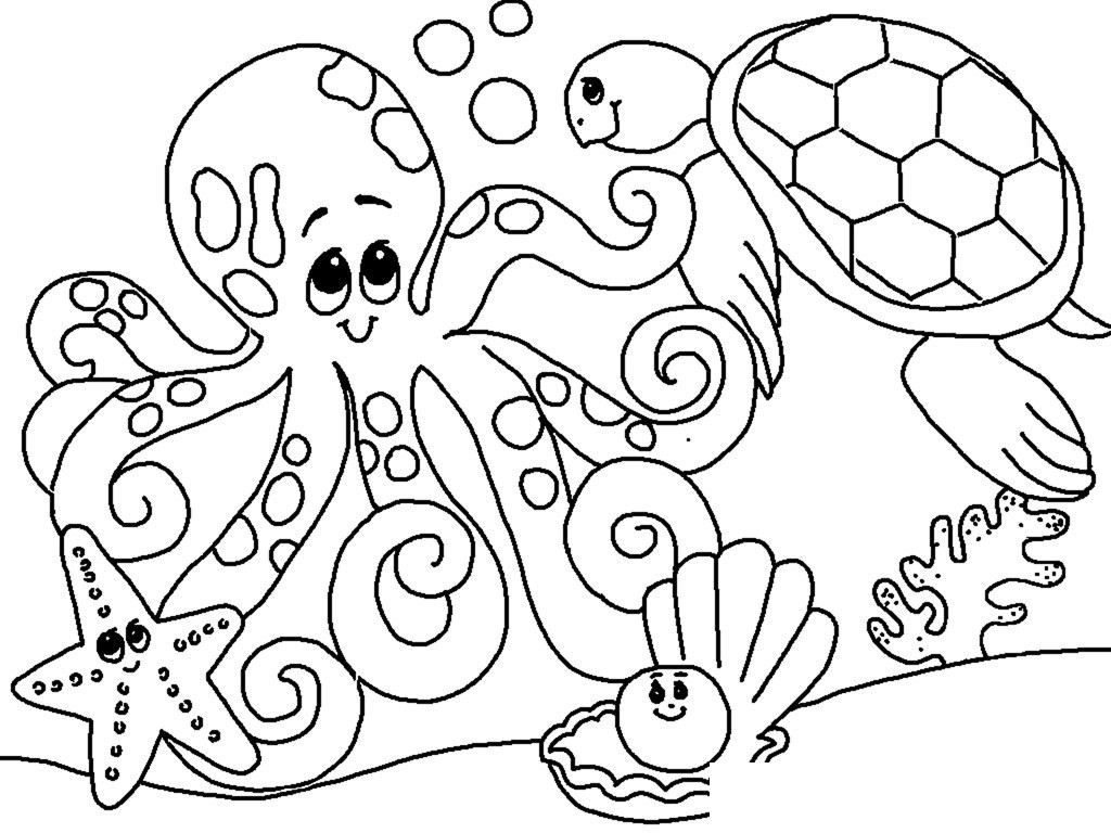 ocean coloring pages free under the sea coloring pages to print for kids coloring pages ocean