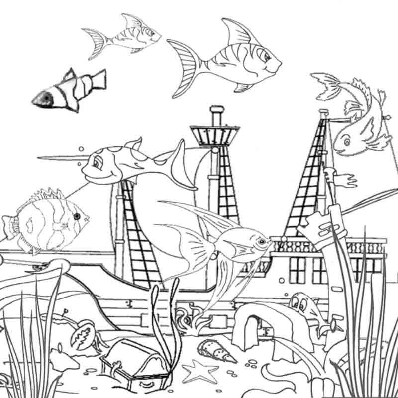 ocean coloring pages ocean coloring pages for preschool coloring home pages coloring ocean