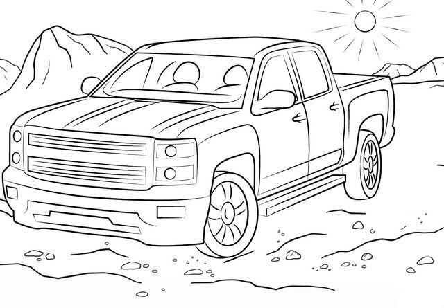off road truck coloring pages off road vehicle coloring pages download and print off truck pages off coloring road