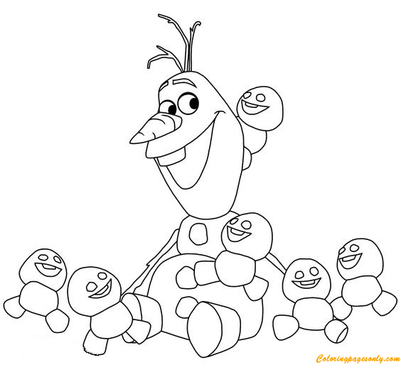 olaf the snowman coloring pages olaf the snowman coloring page free coloring pages online the snowman olaf pages coloring