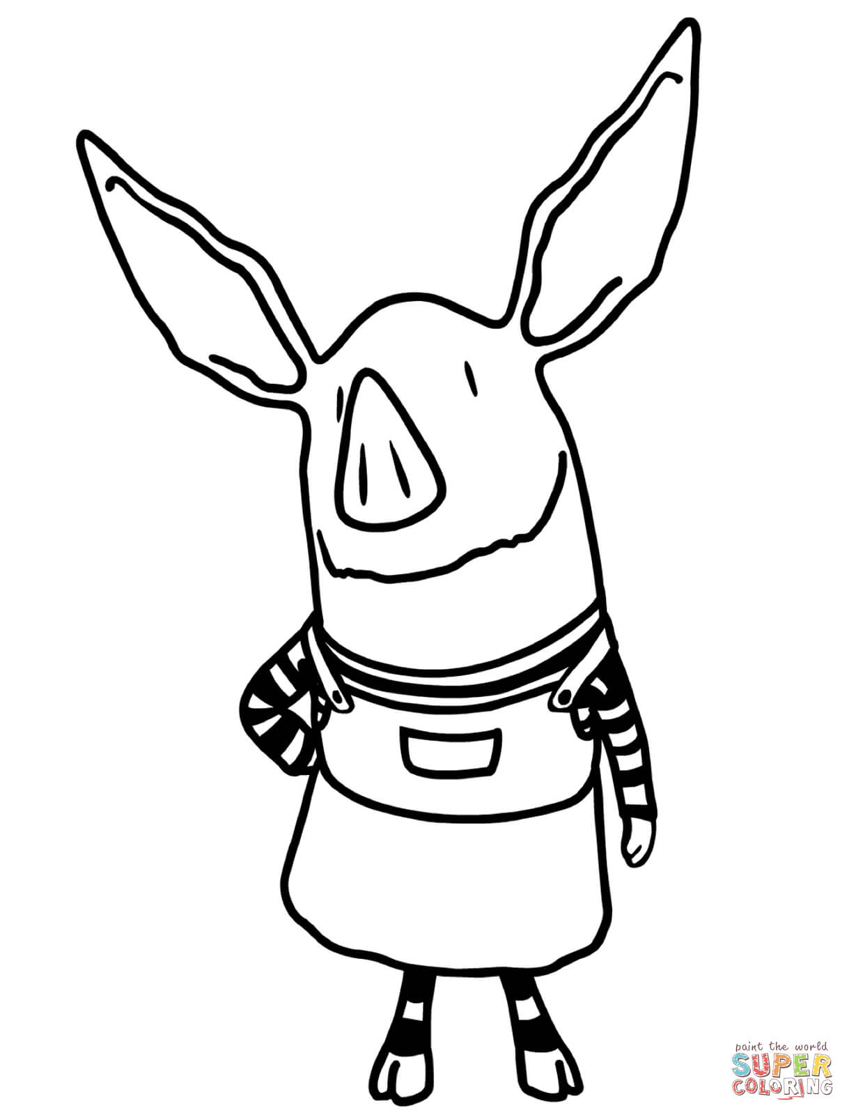 olivia coloring pages olivia the pig coloring page coloring home coloring pages olivia