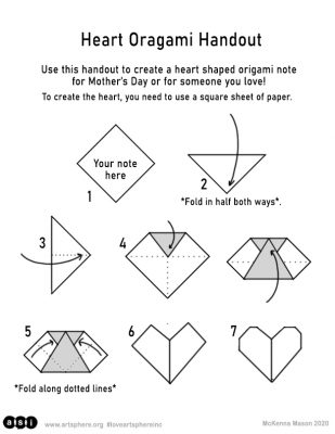 origami heart instructions printable 22 papercraft heart printable digital template etsy in instructions heart printable origami