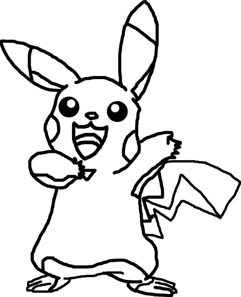 outline of pikachu pikachu39s face line art by ryanthescooterguy on deviantart outline pikachu of