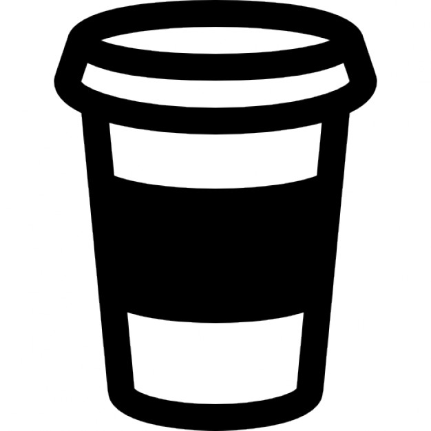 outline picture of cup coffee cup outline icons free download of cup outline picture