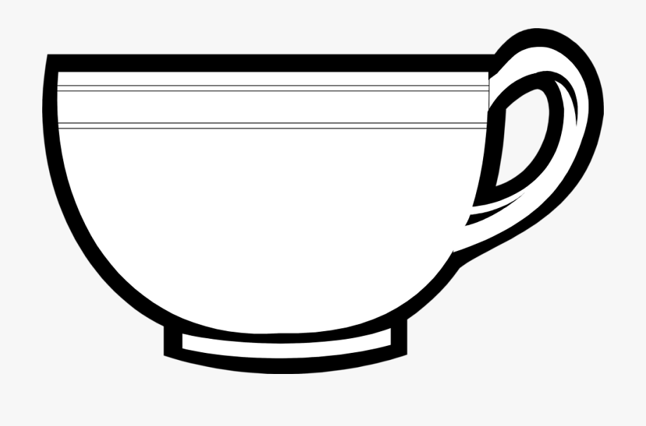 outline picture of cup coloring pages cups teacup coloring page super outline cup of picture