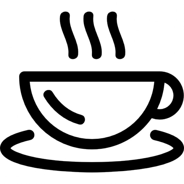 outline picture of cup hot coffee mug outline icons free download outline picture of cup