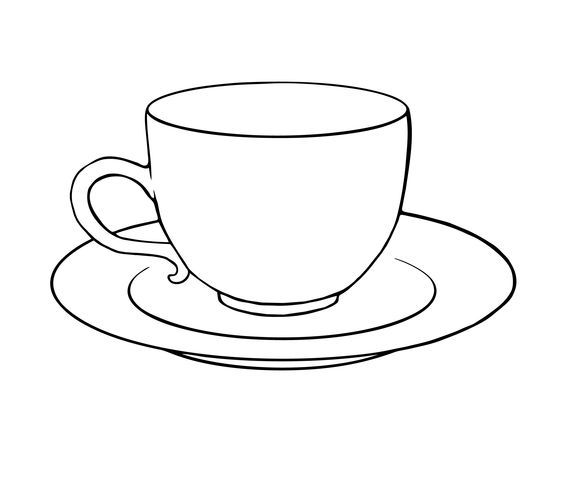 outline picture of cup image result for black outline teacups with images tea picture cup of outline
