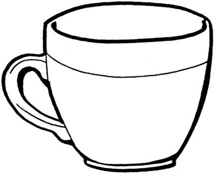 outline picture of cup mug clipart mug outline mug mug outline transparent free picture of outline cup