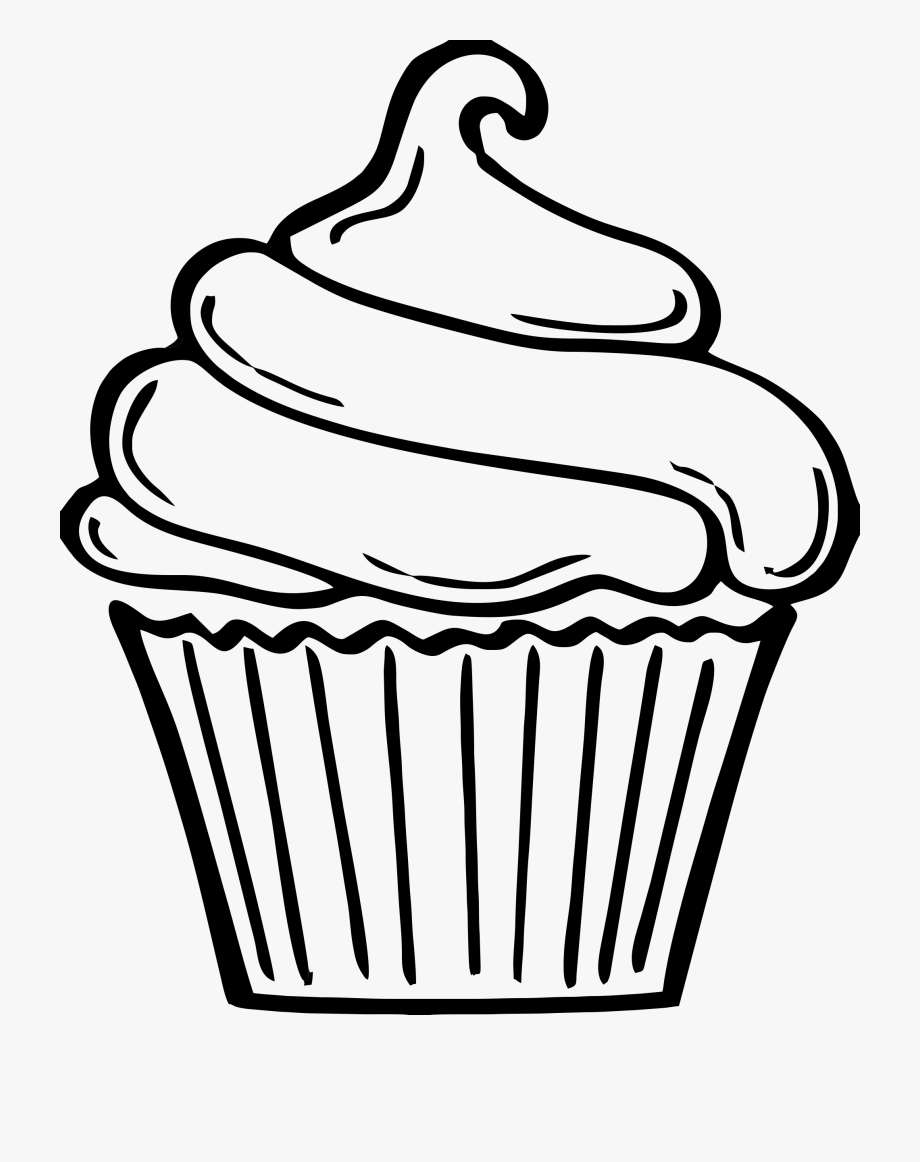 outline picture of cup outline of a cupcake clipart transparent cartoon free outline cup of picture
